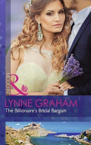 9780263248555: The Billionaire's Bridal Bargain (Bound By Gold)