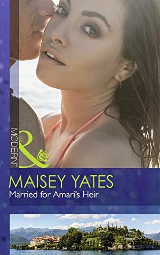 9780263248876: Married for Amari's Heir (Mills & Boon Modern)