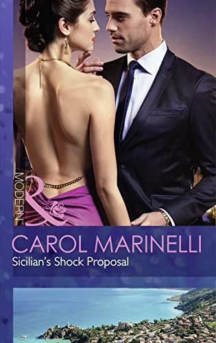 9780263248890: Sicilian's Shock Proposal (Mills & Boon Modern)
