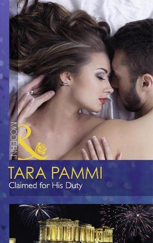 9780263249002: Claimed for His Duty (Mills & Boon Modern)