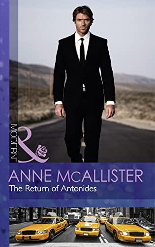 9780263249224: The Return of Antonides