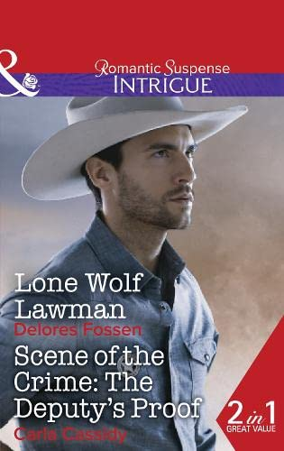 9780263253221: Lone Wolf Lawman (Mills & Boon Intrigue)