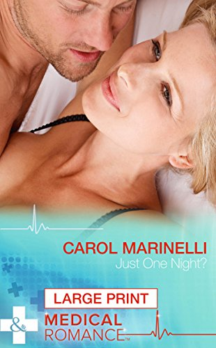 9780263255041: Just One Night? (Mills & Boon Largeprint Medical)