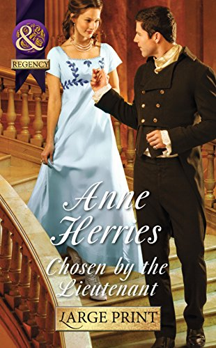 9780263255430: Chosen by the Lieutenant (Regency Brides of Convenience)