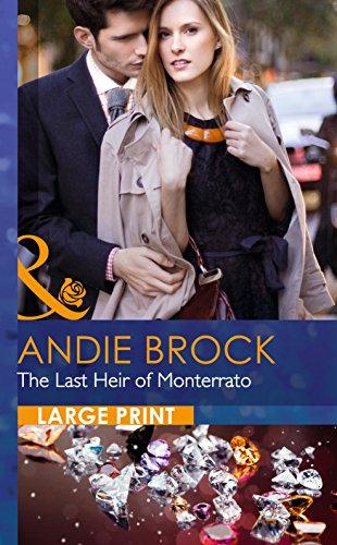 9780263256314: The Last Heir of Monterrato