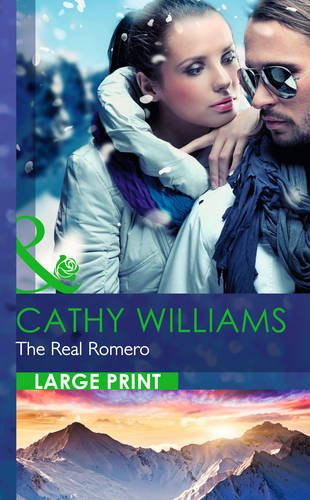 9780263256529: The Real Romero (Mills & Boon Largeprint Romance)
