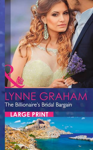 9780263256598: The Billionaire's Bridal Bargain (Mills & Boon Largeprint Romance)