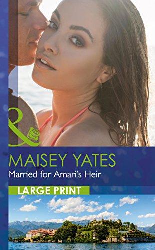 9780263256949: Married For Amari's Heir