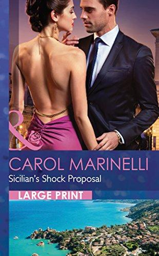 9780263256963: Sicilian's Shock Proposal (Mills & Boon Largeprint Romance)