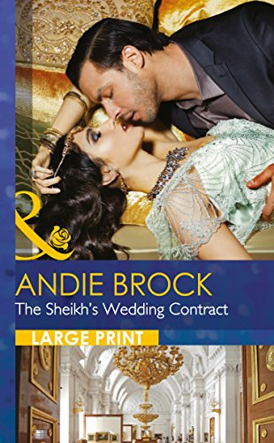 9780263256987: The Sheikh's Wedding Contract (Mills & Boon Largeprint Romance)