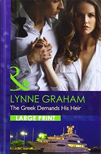 9780263257038: The Greek Demands His Heir (Mills & Boon Largeprint Romance)