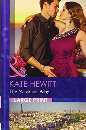 9780263257090: The Marakaios Baby (Mills & Boon Largeprint Romance)