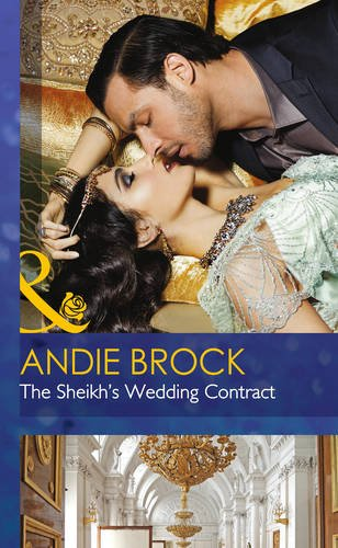 Sheikh's Wedding Contract (Society Weddings): Brock, Andie