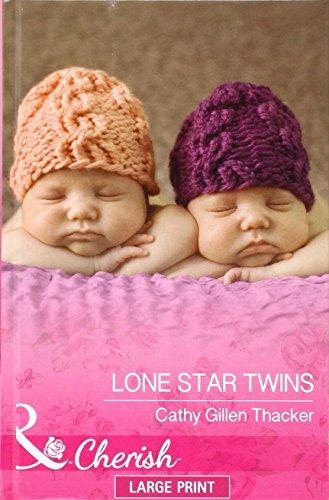 9780263260090: Lone Star Twins (Mills & Boon Largeprint Cherish)