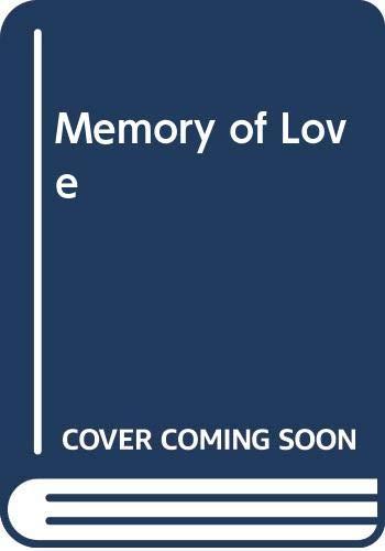 9780263712339: Memory of Love