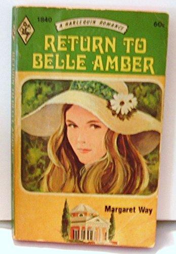 9780263712612: Return to Belle Amber