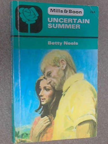 Uncertain Summer (9780263714326) by Betty Neels