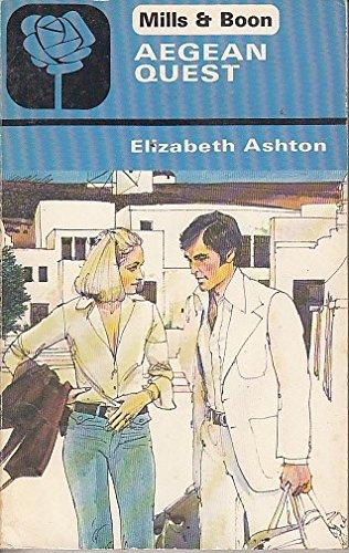 Aegean Quest (Harlequin Romance #2076): Ashton, Elizabeth