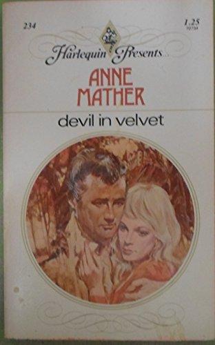 9780263725537: Devil in Velvet