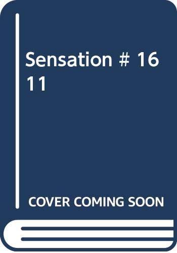 9780263731989: Sensation # 1611