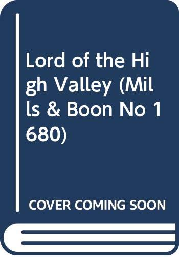 Lord of the High Valley (Mills &: Margaret Way