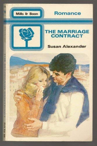 9780263742381: Marriage Contract (Mills & Boon romance)