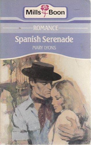 9780263746211: Spanish serenade