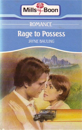 9780263749090: Rage to Possess