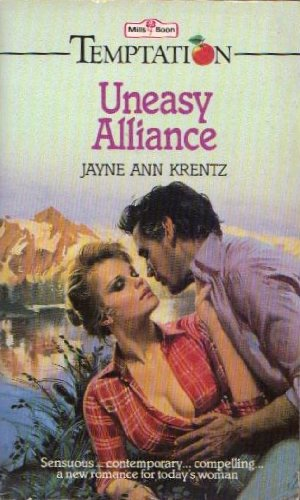 9780263749229: Uneasy Alliance (Temptation)