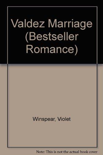 9780263749700: Valdez Marriage (Bestseller Romance)
