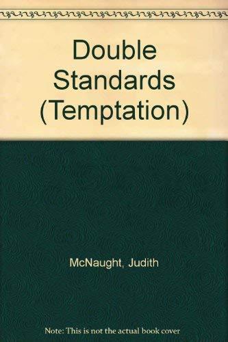 9780263751109: Double Standards (Temptation)