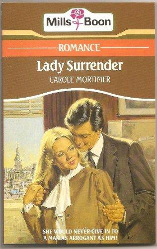 9780263751796: Lady Surrender
