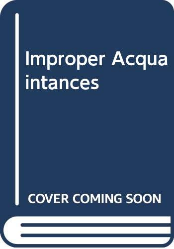 9780263753264: Improper Acquaintances (Masquerade)