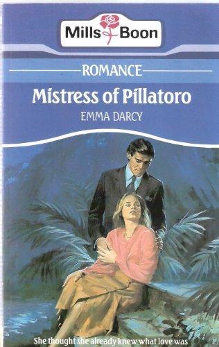9780263758245: Mistress of Pillatoro