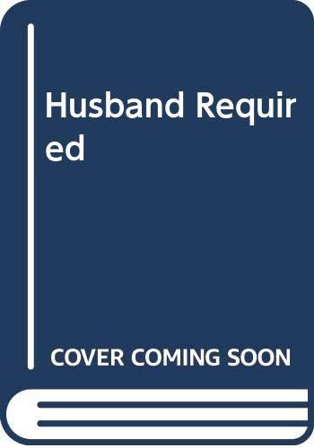 9780263758375: Husband Required (Romance)