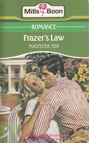 9780263758702: Frazer's Law