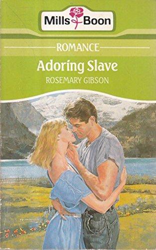 9780263764543: Adoring slave