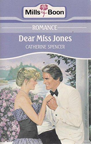 9780263774320: Dear Miss Jones