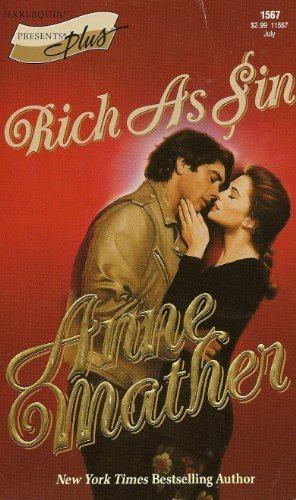 Rich as Sin (9780263778953) by Anne Mather