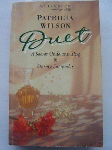 9780263787221: A Secret Understanding (Duet)