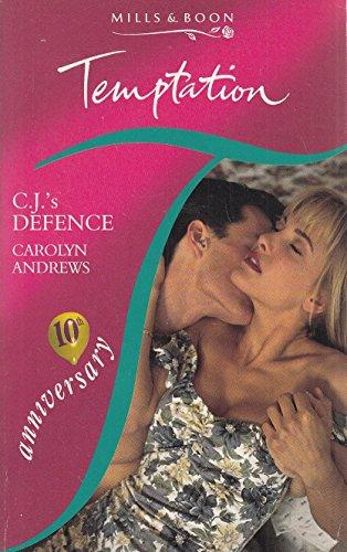9780263791044: C.J.'s Defence (Temptation)