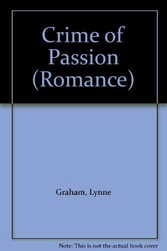 9780263792355: Crime of Passion (Romance)