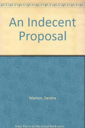 9780263793437: An Indecent Proposal