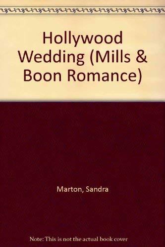 9780263794236: Hollywood Wedding (Romance S.)