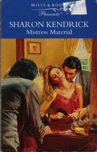 9780263796094: MISTRESS MATERIAL (PRESENTS S.)