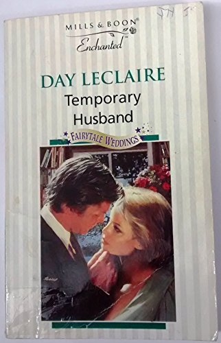 9780263804638: Temporary Husband