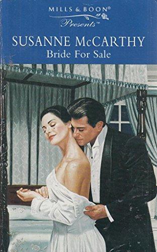 9780263811445: Bride for Sale (Presents)
