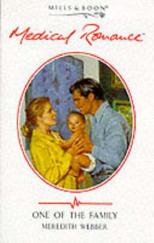 9780263816808: One of the Family (Mills & Boon Medical)