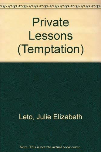 9780263818734: Private Lessons - Temptation Blaze