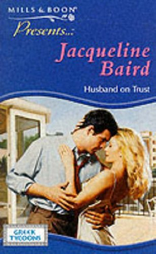 9780263819649: Husband on Trust (Presents S.)